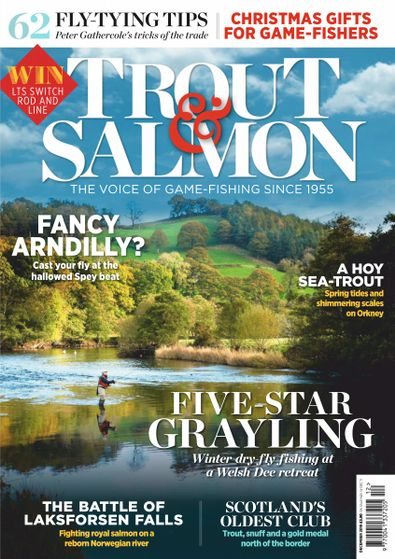 Trout & Salmon (UK) magazine cover