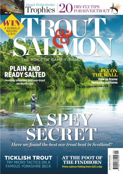 Trout & Salmon (UK) magazine cover