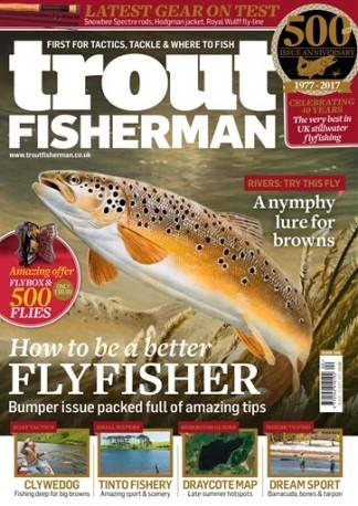 Trout Fisherman (UK) magazine cover