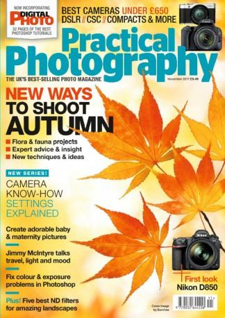 Practical Photography (UK) magazine cover