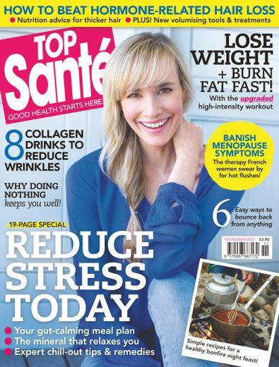 Top Sante (UK) magazine cover