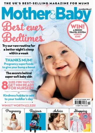 Mother & Baby (UK) magazine cover