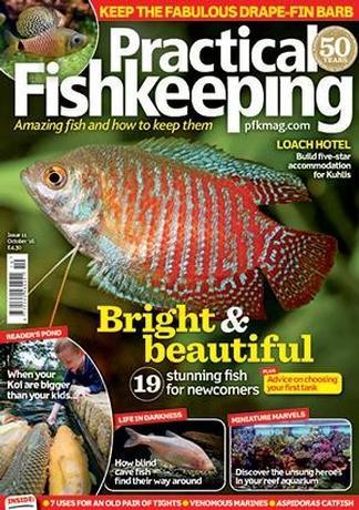 Practical Fishkeeping (UK) magazine cover