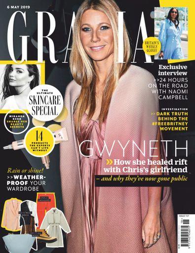 Grazia (UK) magazine cover