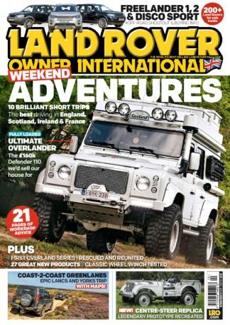 Land Rover Owner International (UK) magazine cover