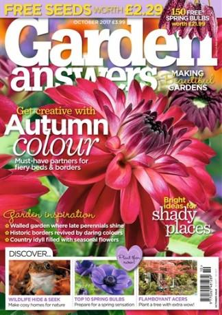 Garden Answers (UK) magazine cover