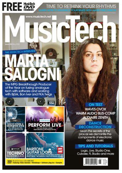 Music Tech Magazine (UK) cover