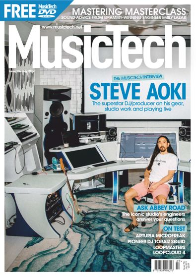 Music Tech Magazine (UK) cover