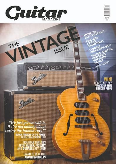 Guitar Magazine (UK) cover