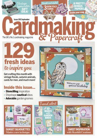 Cardmaking & Papercraft (UK) magazine cover