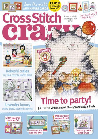 Cross Stitch Crazy magazine cover