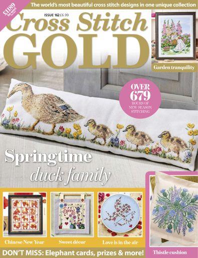 Cross Stitch Gold (UK) magazine cover