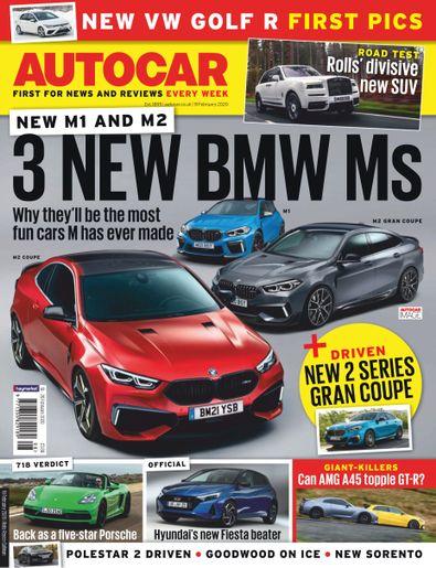 Autocar (UK) magazine cover