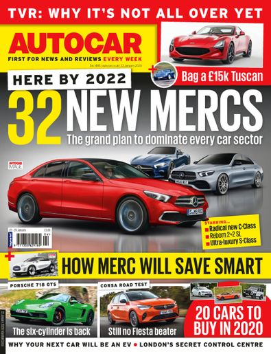 Autocar (UK) magazine cover
