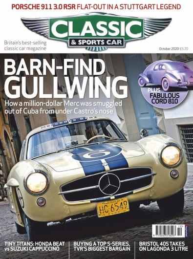 Classic & Sports Car (UK) magazine cover