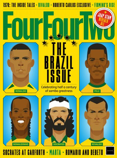 FourFourTwo (UK) magazine cover
