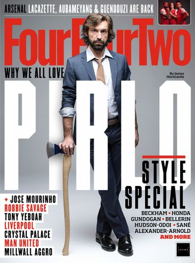 FourFourTwo (UK) magazine cover