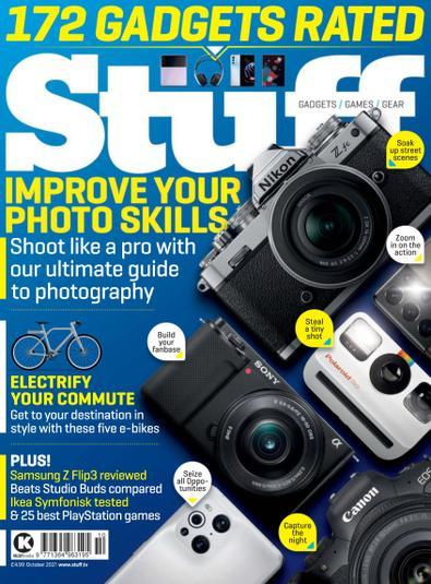 Stuff (UK) magazine cover
