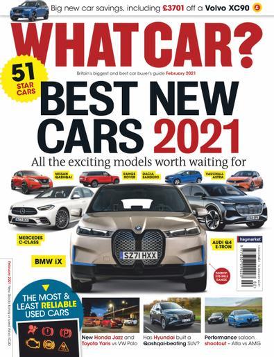 What Car? (UK) magazine cover