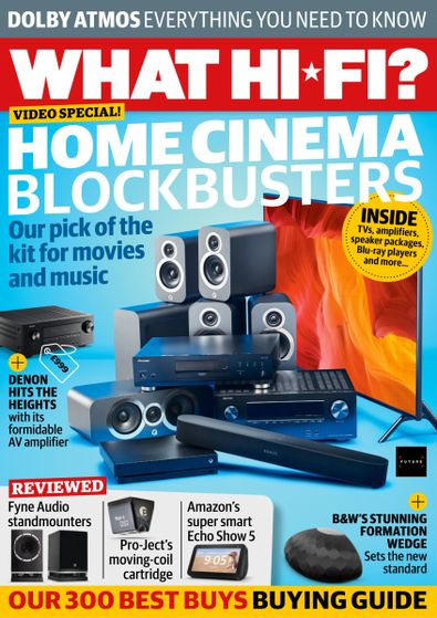 What Hi-Fi Sound and Vision? magazine cover