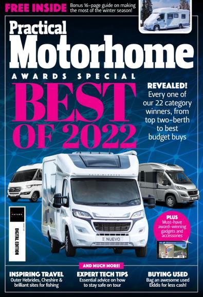 Practical Motorhome magazine cover