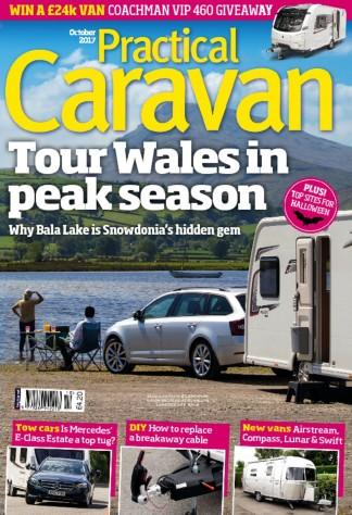 Practical Caravan (UK) magazine cover