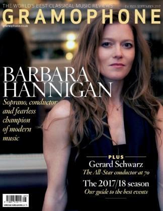 Gramophone (UK) magazine cover