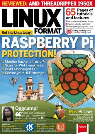 Linux Format (UK) magazine cover
