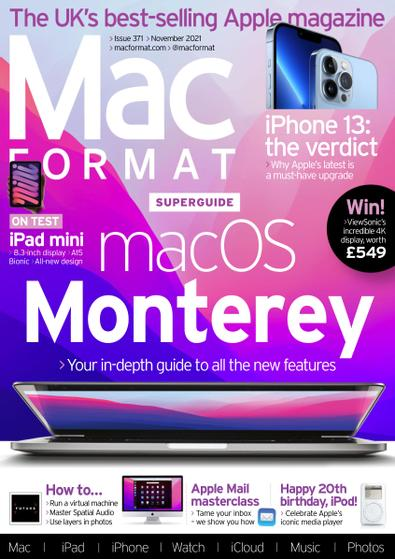 Mac Format (UK) magazine cover