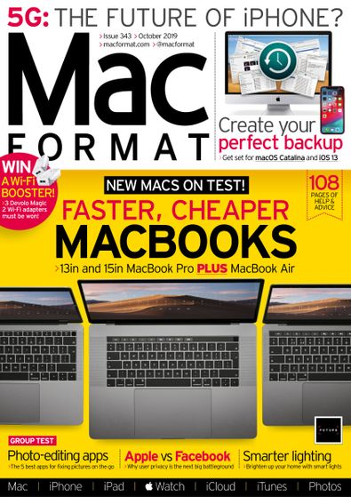 Mac Format (UK) magazine cover