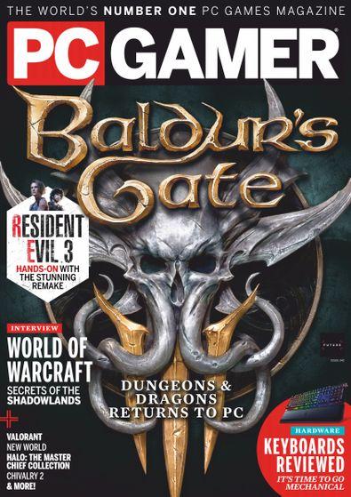 PC Gamer (UK) magazine cover
