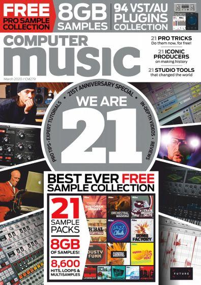 Computer Music (UK) magazine cover