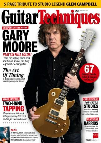 Guitar Techniques (UK) magazine cover