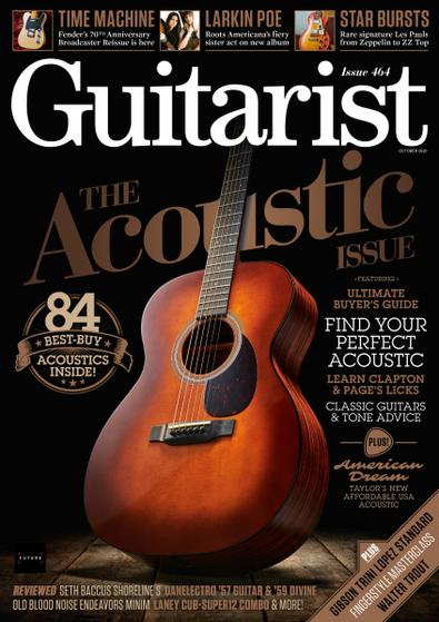 Guitarist (UK) magazine cover