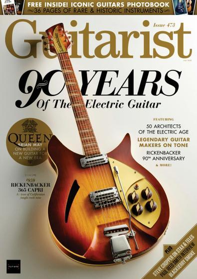 Guitarist (UK) magazine cover