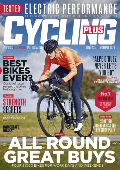 Cycling Plus (UK) magazine cover