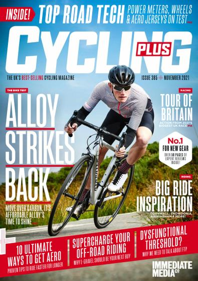 Cycling Plus (UK) magazine cover