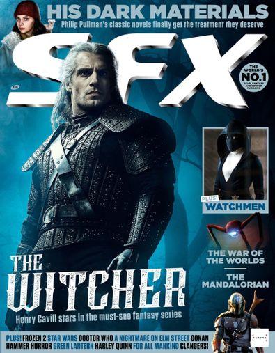 SFX (UK) magazine cover