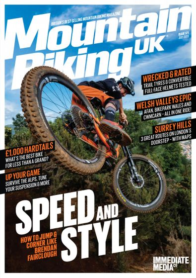 Mountain Biking UK (UK) magazine cover
