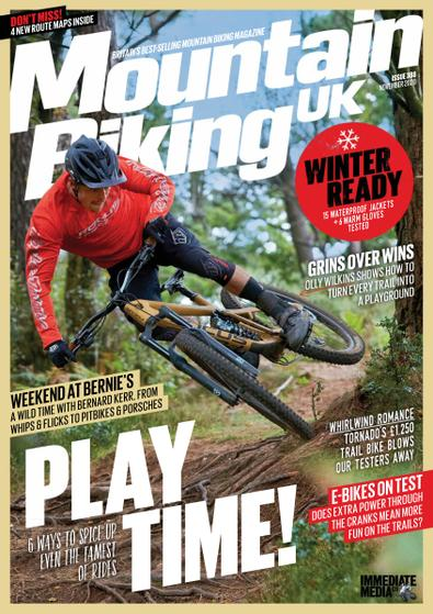 Mountain Biking UK (UK) magazine cover