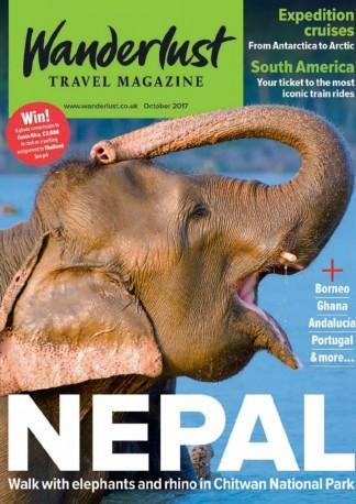 Wanderlust Travel Magazine (UK) cover
