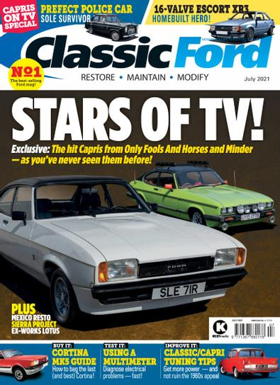 Classic Ford (UK) magazine cover