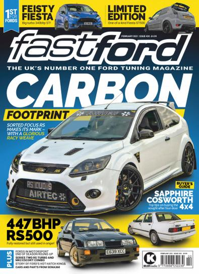 Fast Ford (UK) magazine cover