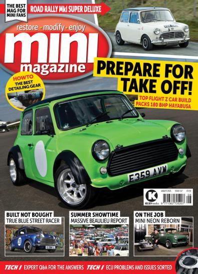 Mini Magazine (UK) cover