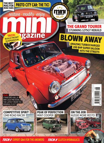 Mini Magazine (UK) cover