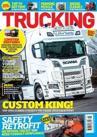 Trucking (UK) magazine cover