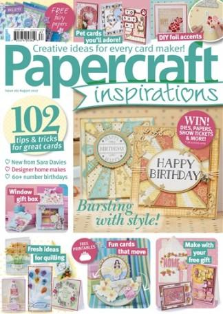 Papercraft Inspirations (UK) magazine cover