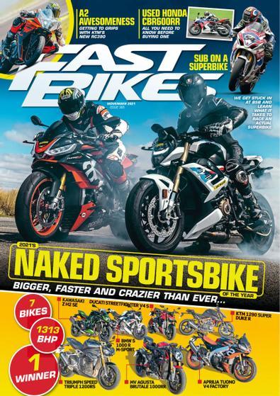 Fast Bikes (UK) magazine cover