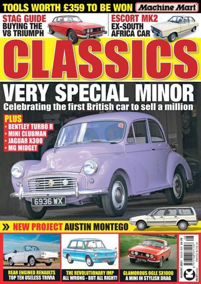 Classics Monthly (UK) magazine cover