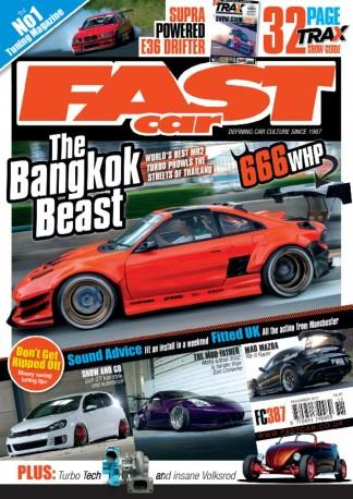 Fast Car (UK) magazine cover